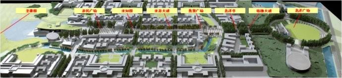 天津大学新校区施工建设情况